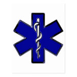 Paramedic Star Of Life Post Cards