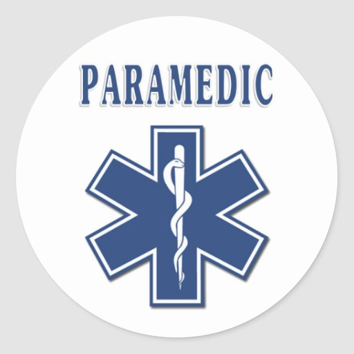 Paramedic Star of Life Stickers