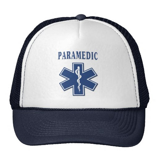 Paramedic Star of Life Trucker Hat