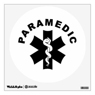 Paramedic Star of Life Wall Sticker