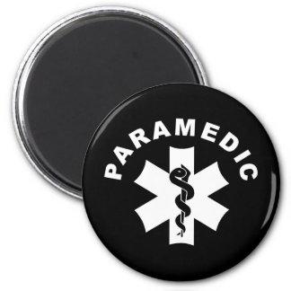 Paramedic Theme 2 Inch Round Magnet