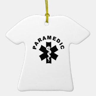 Paramedic Theme Christmas Ornament