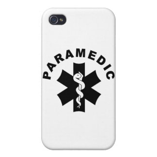 Paramedic Theme Cover For iPhone 4