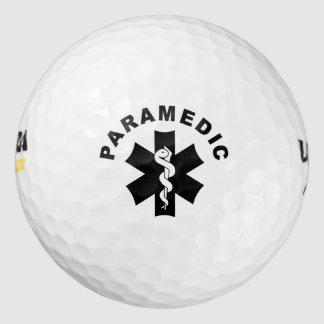 Paramedic Theme Golf Balls