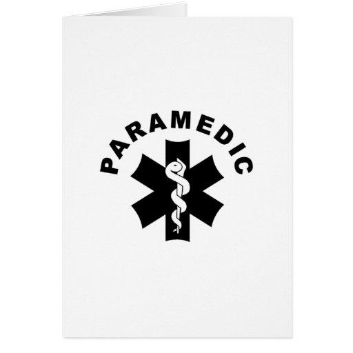Paramedic Theme Greeting Card