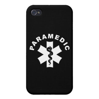 Paramedic Theme iPhone 4/4S Covers