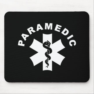 Paramedic Theme Mouse Pad