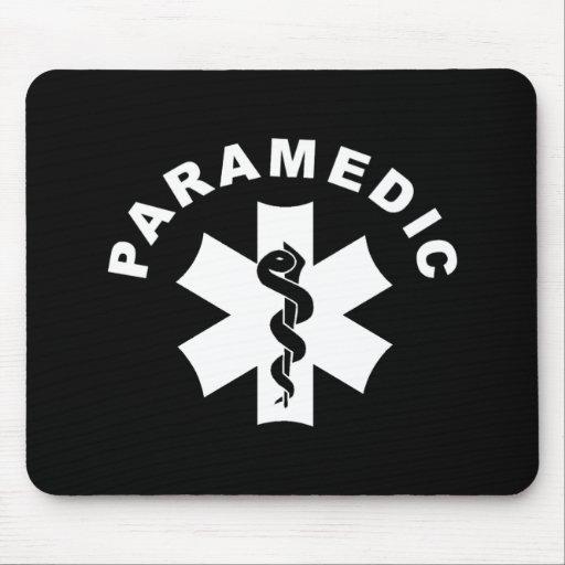 Paramedic Theme Mouse Mat