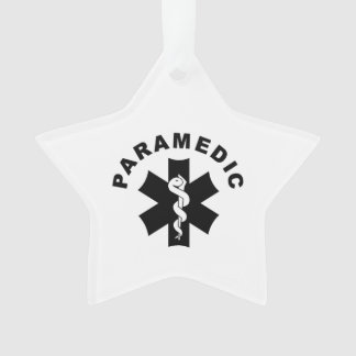 Paramedic Theme Ornament