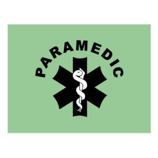 Paramedic Theme Postcard