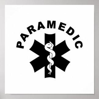 Paramedic Theme Poster