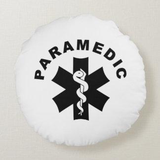 Paramedic Theme Round Pillow