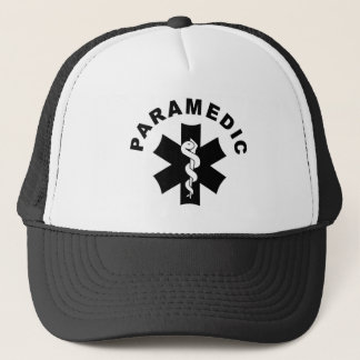 Paramedic Theme Trucker Hat