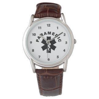 Paramedic Theme Wrist Watch