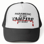Paramedic Vampire by Night Trucker Hat