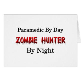 Paramedic Zombie Hunter Cards