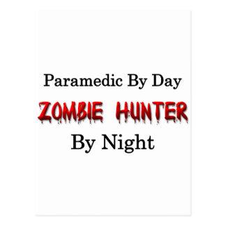 Paramedic Zombie Hunter Post Card