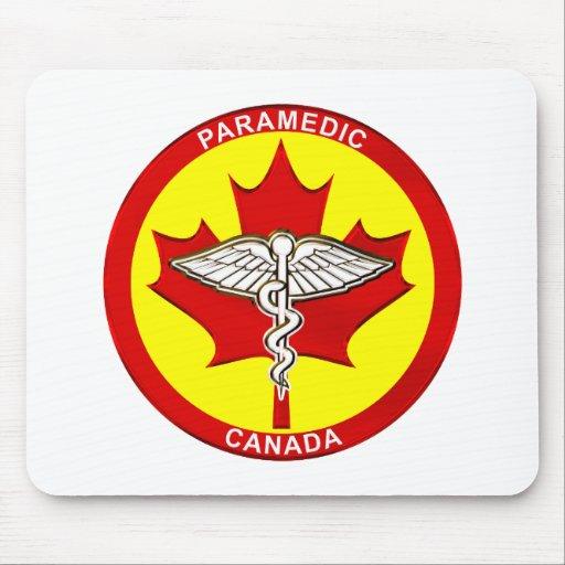 Paramédico Canadá Mousepad Tapete De Ratón
