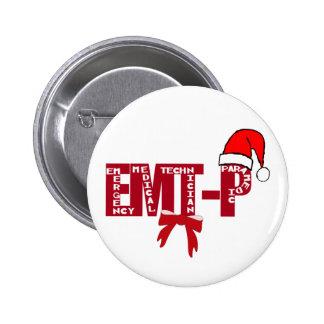Paramédico de Santa EMT-P del navidad Pins