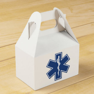 Paramédico del ccsme EMT Caja Para Regalos