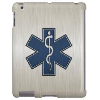 Paramédico EMT el ccsme de lujo Funda Para iPad