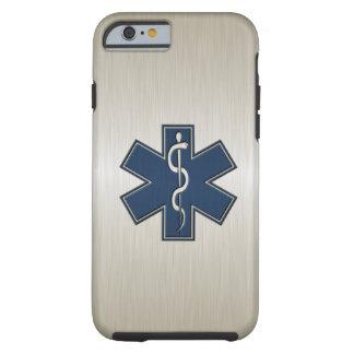 Paramédico EMT el ccsme de lujo Funda Para iPhone 6 Tough
