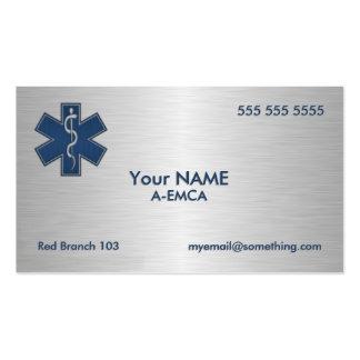 Paramédico EMT el ccsme de lujo Tarjetas De Visita