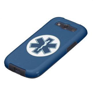 Paramédico EMT el ccsme Galaxy SIII Cobertura