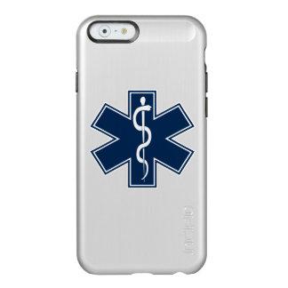 Paramédico EMT el ccsme Funda Para iPhone 6 Plus Incipio Feather Shine