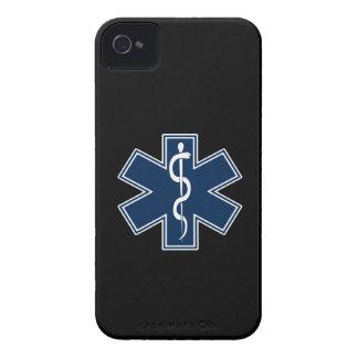 Paramédico EMT el ccsme iPhone 4 Carcasas