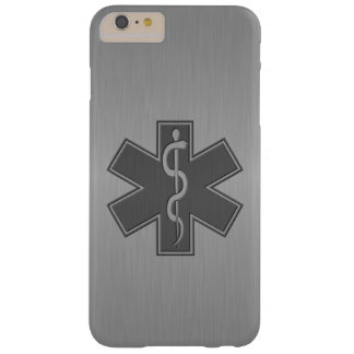 Paramédico EMT el ccsme moderno Funda Para iPhone 6 Plus Barely There