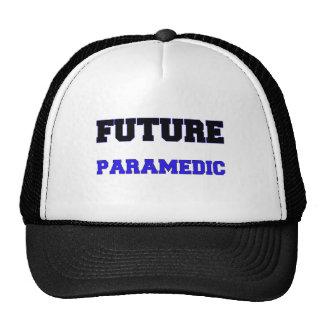 Paramédico futuro gorros bordados