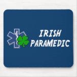 Paramédico irlandés tapetes de ratón