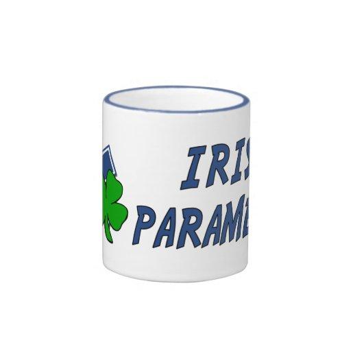 Paramédico irlandés taza de café