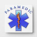 paramédico placas con foto