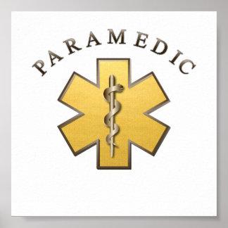 Paramédico Póster