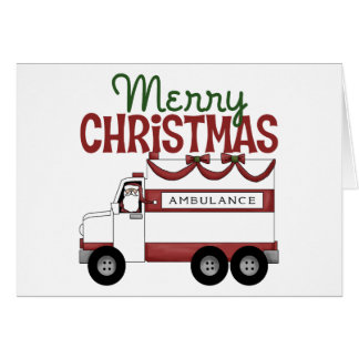 Paramedics Christmas Card