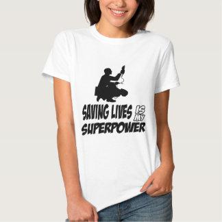 Paramedics designs tee shirt