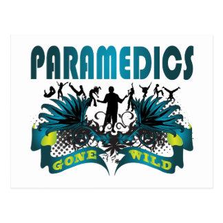 Paramedics Gone Wild Postcard