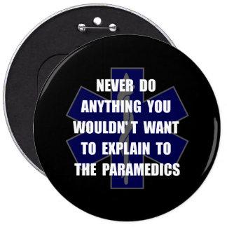 Paramedics Pinback Button