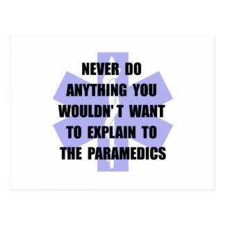 Paramedics Postcard