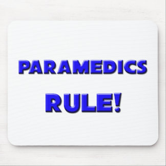 Paramedics Rule! Mouse Pads