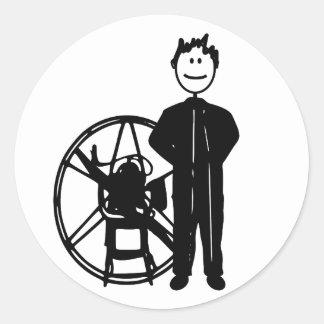 Paramotor Pilot Stickers