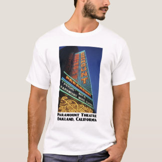 Paramount, Oakland White T-Shirt