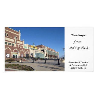 Paramount Theater Convention Hall - Asbury Park NJ Photo Card Template