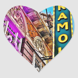 Paramount Theater Heart Sticker