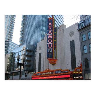 Paramount Theater Postcard