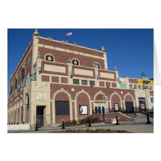 Paramount Theatre Convention Hall Asbury Park NJ Card