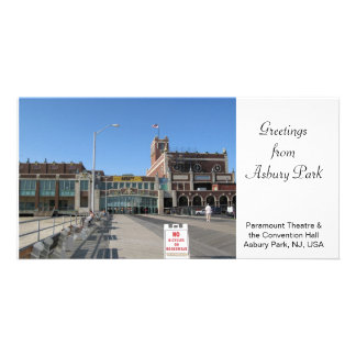 Paramount Theatre Convention Hall Asbury Park NJ Card