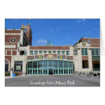 Paramount Theatre / Theater Asbury Park NJ Card